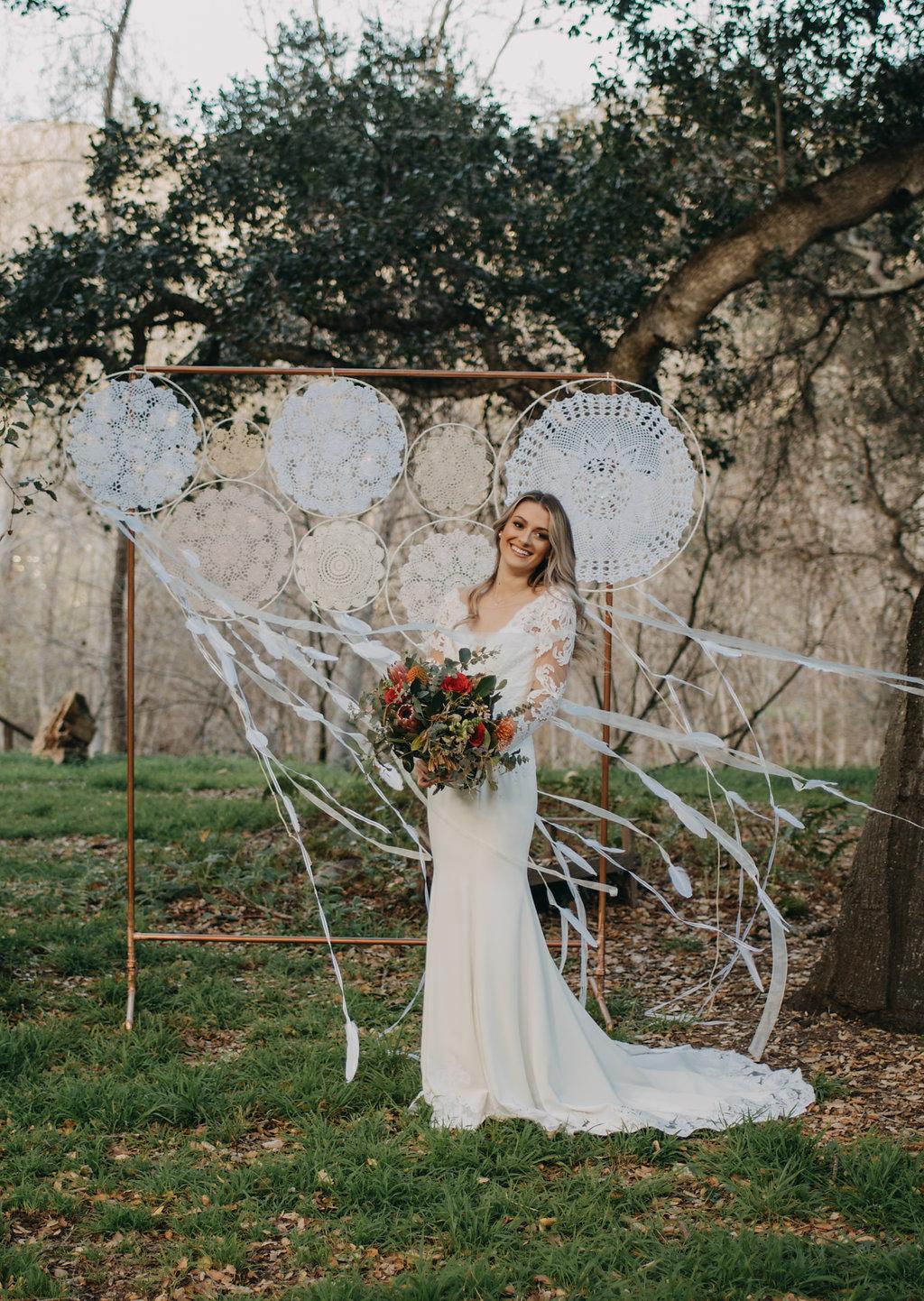 dream catcher wedding outdoor wedding decorations boho wedding