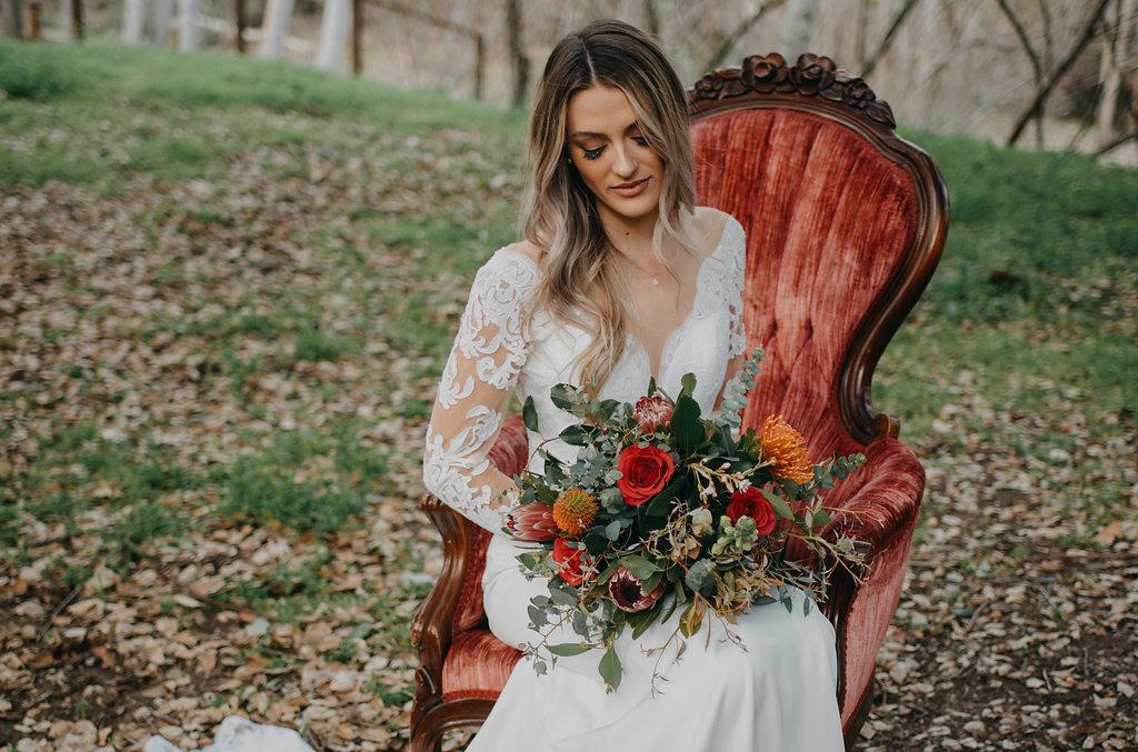bohemian wedding fantasy, outdoor nature wedding