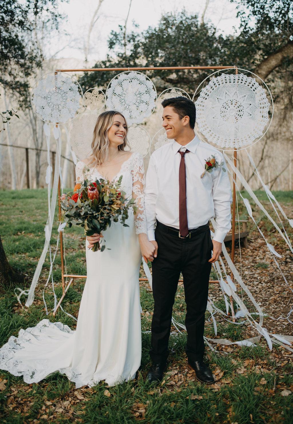 fun wedding photoshoot