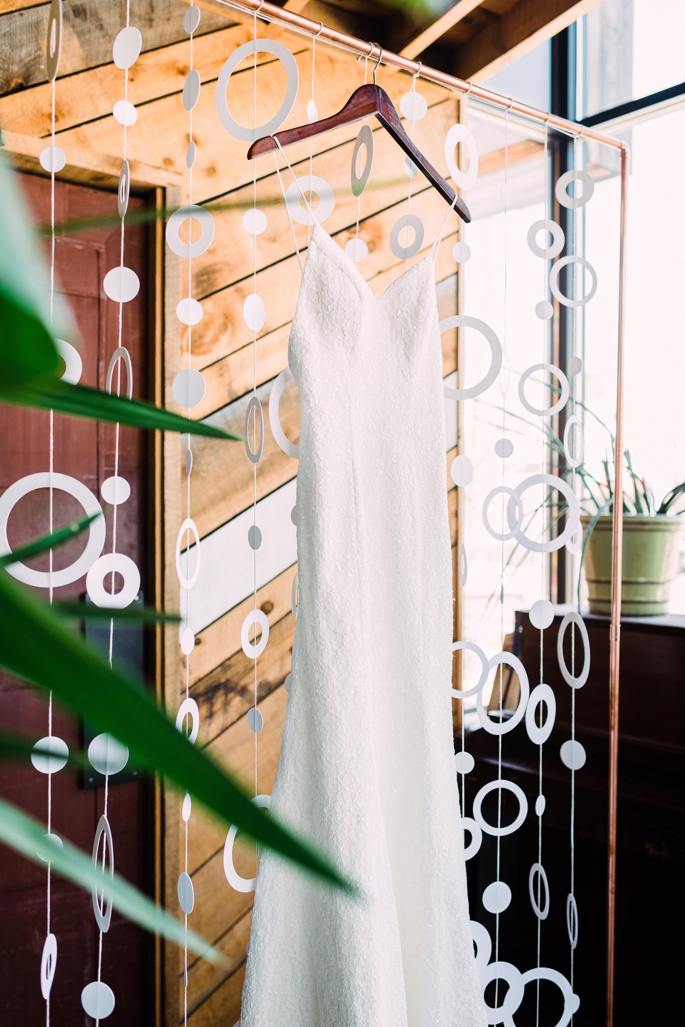 summer breezy rustic indoors wedding photo