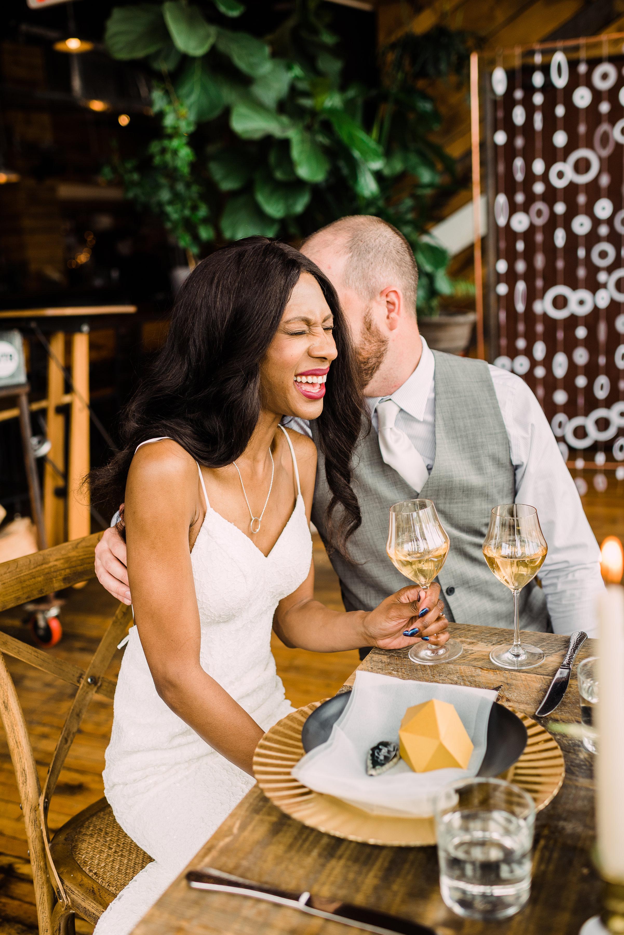 simple sheath wedding dress for modern brides