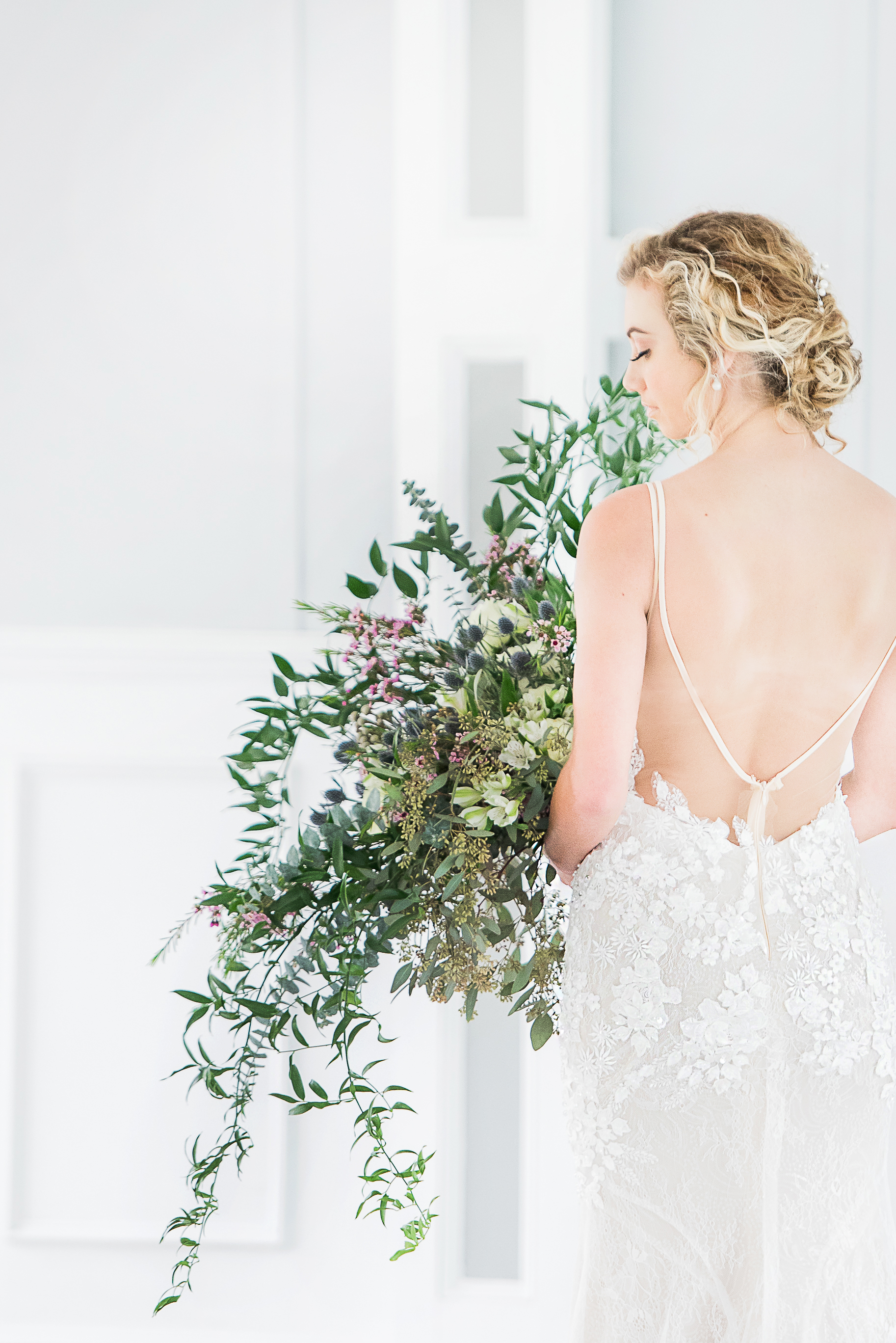 low back lace illusion back wedding gown under $1000 custom made wedding gown