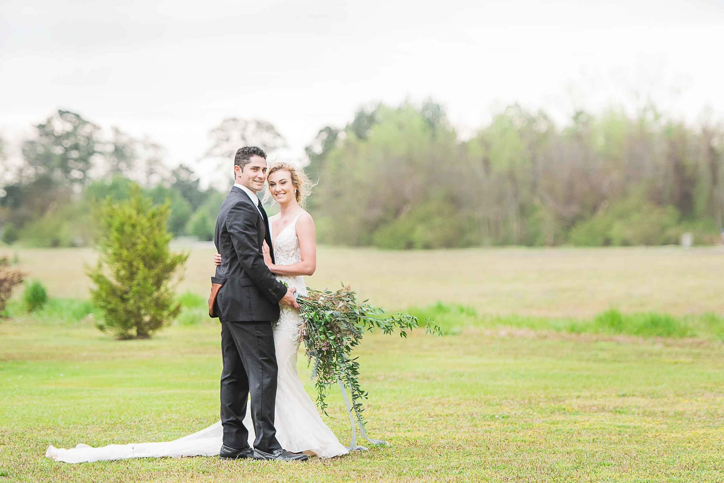 north carolina outdoor wedding photography