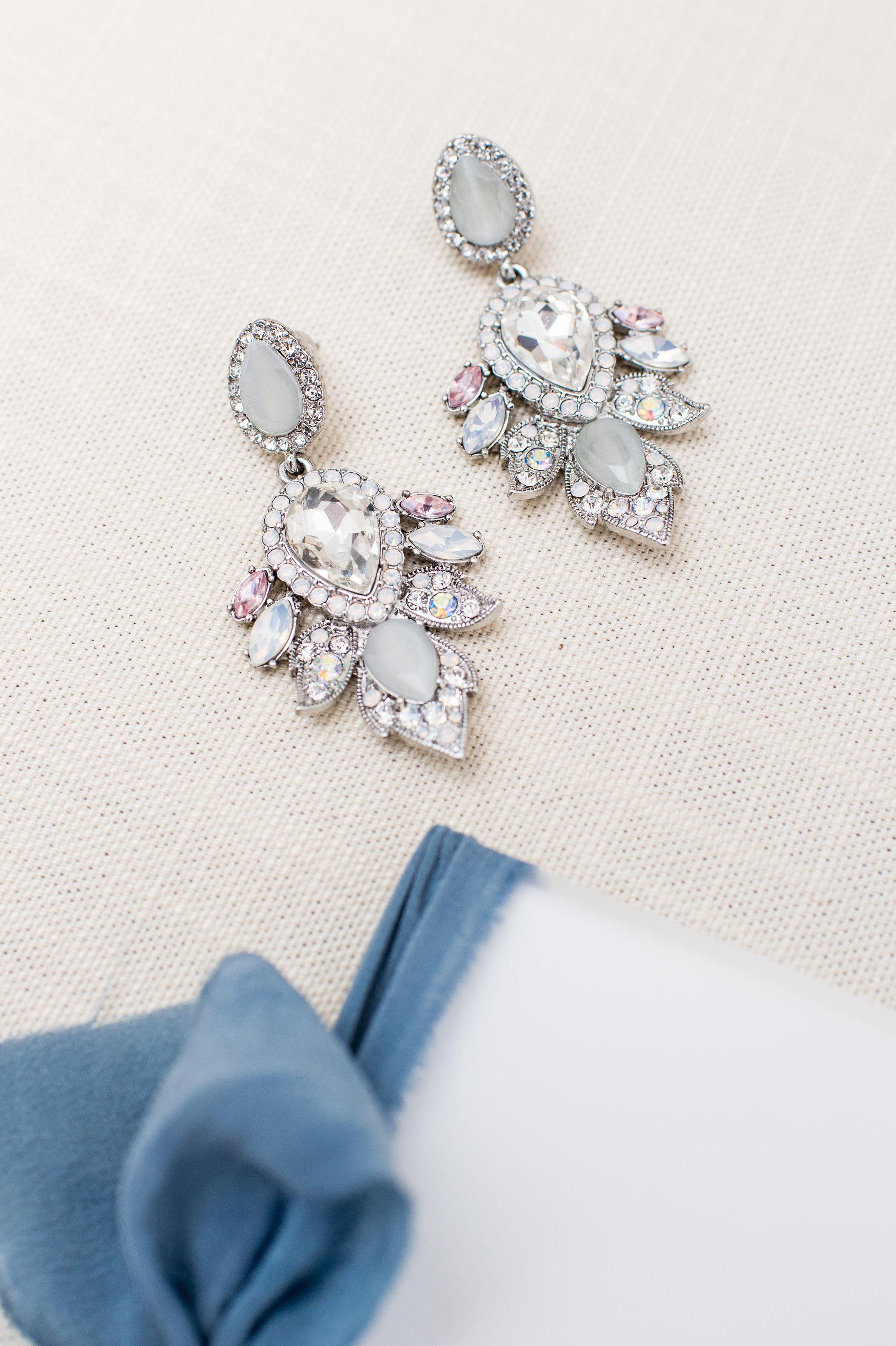 wedding statement earrings