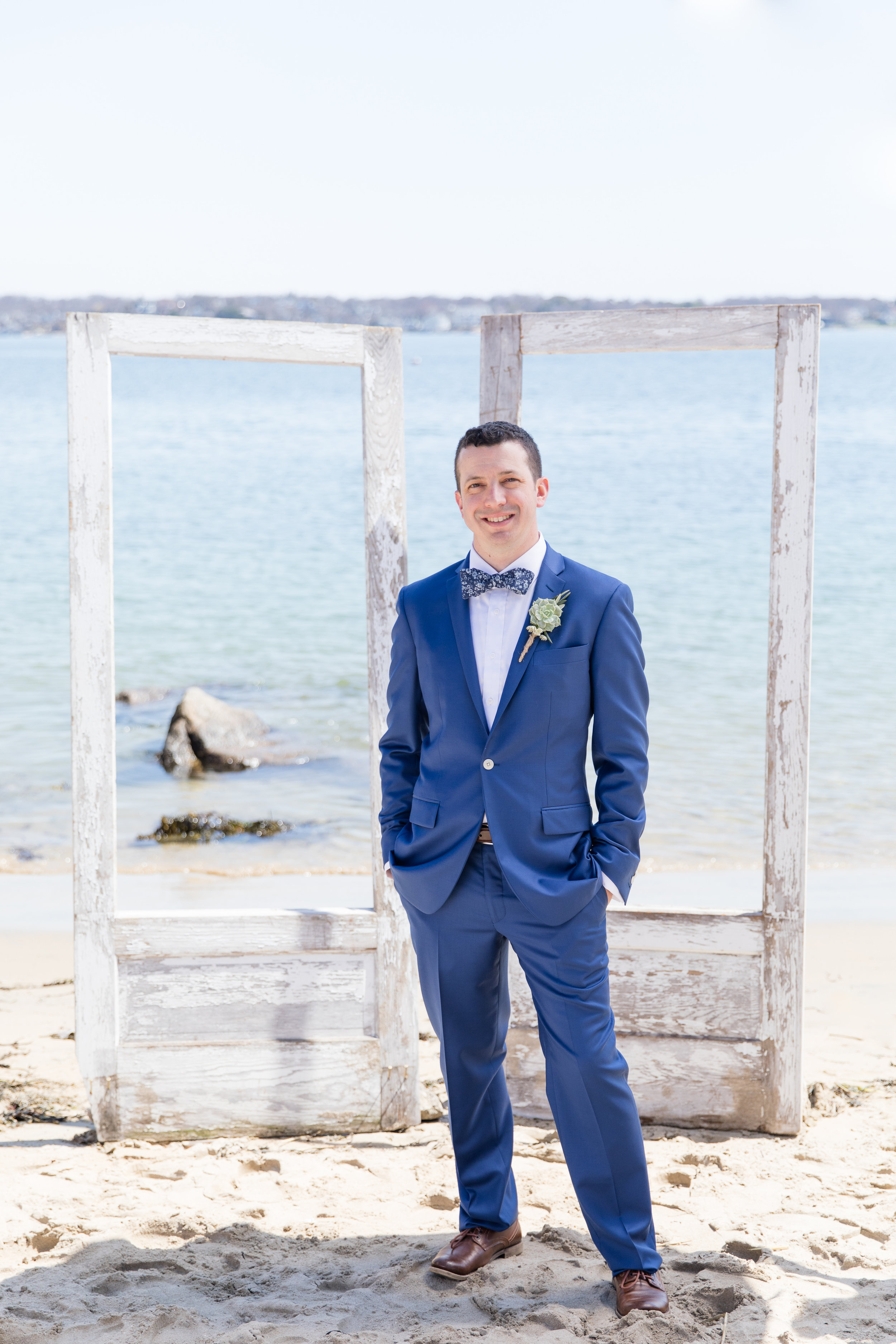 groom photography unique tux and boutonniere