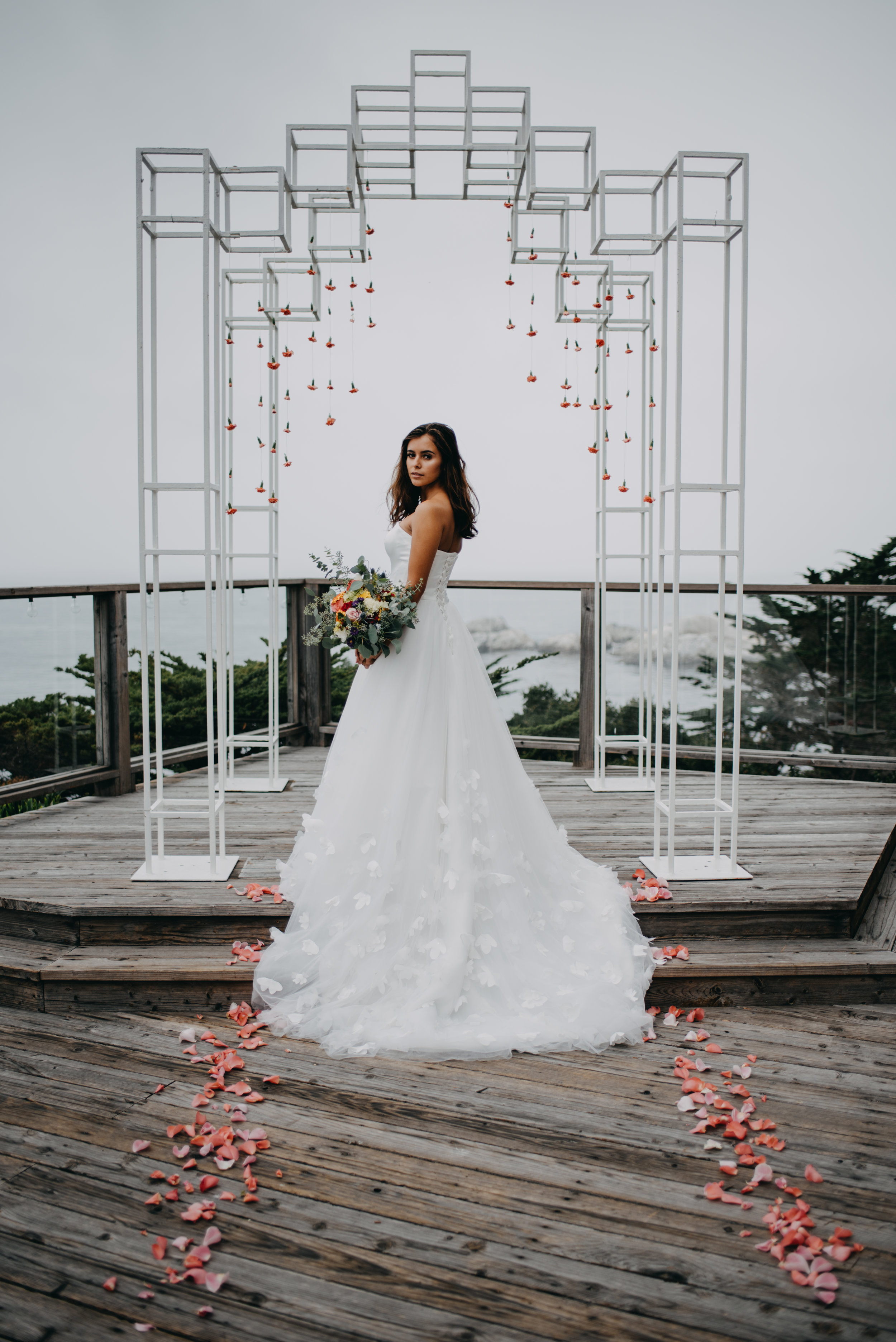 """Dennese's measurements are: Height: 5'3 / Bust 32"""" / Waist 26"""" / Hip 32"""" 