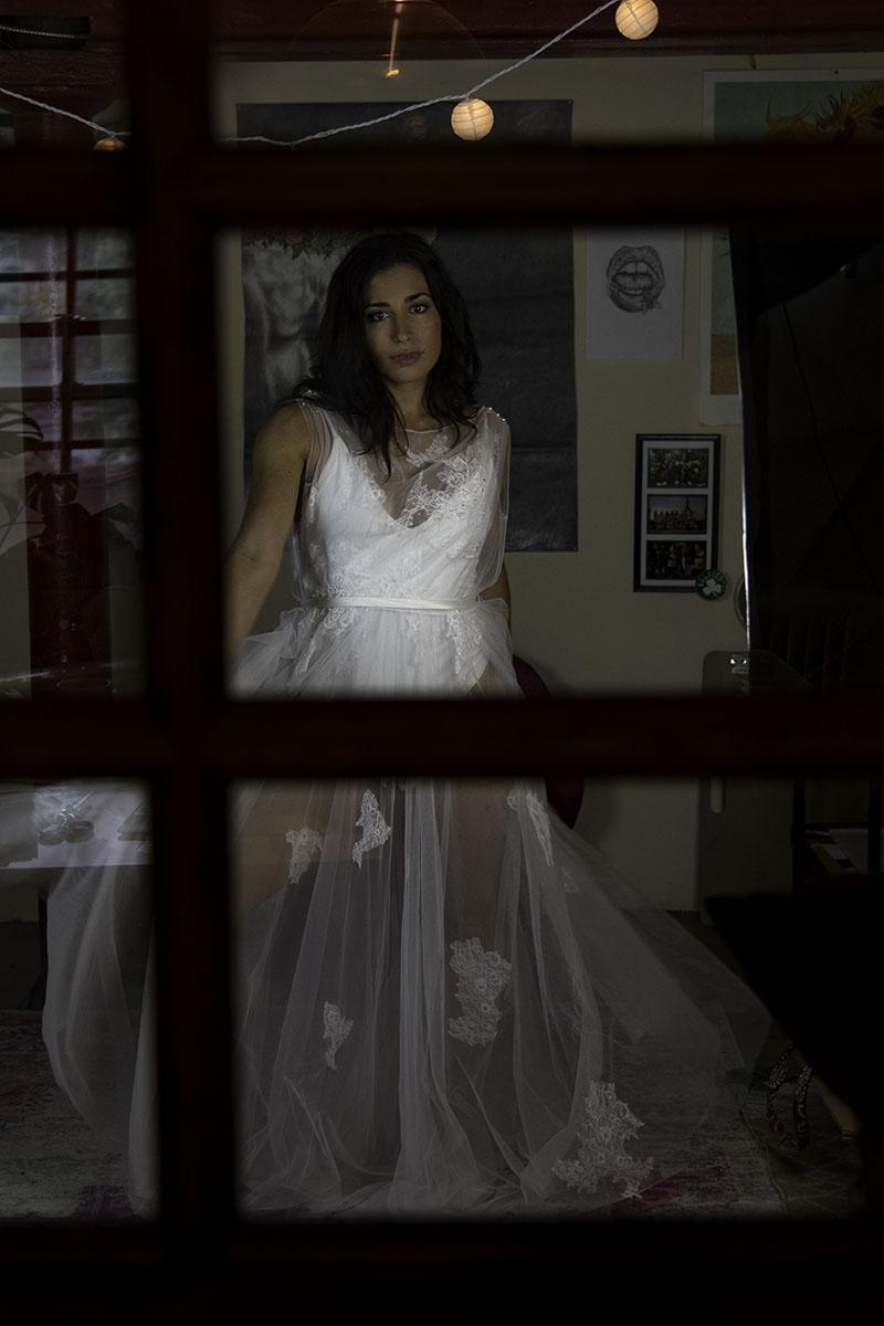 beautiful affordable wedding dress unique two piece wedding dress exclusive at lyra vega bridal
