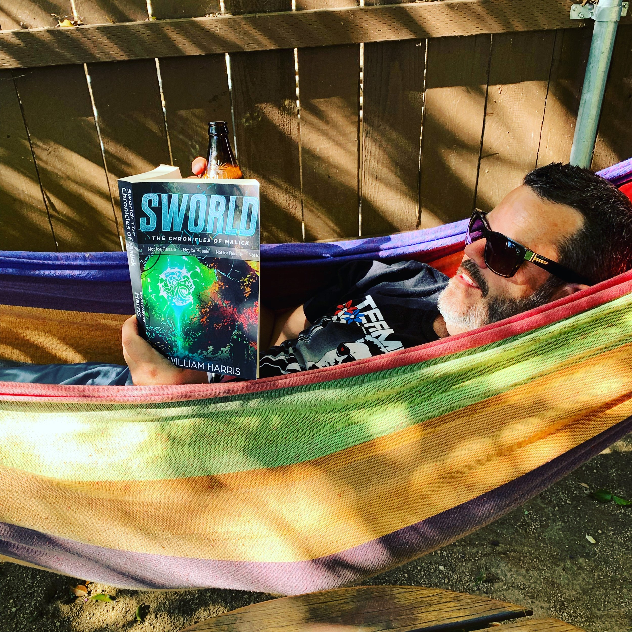 Sworld is great in a hammock