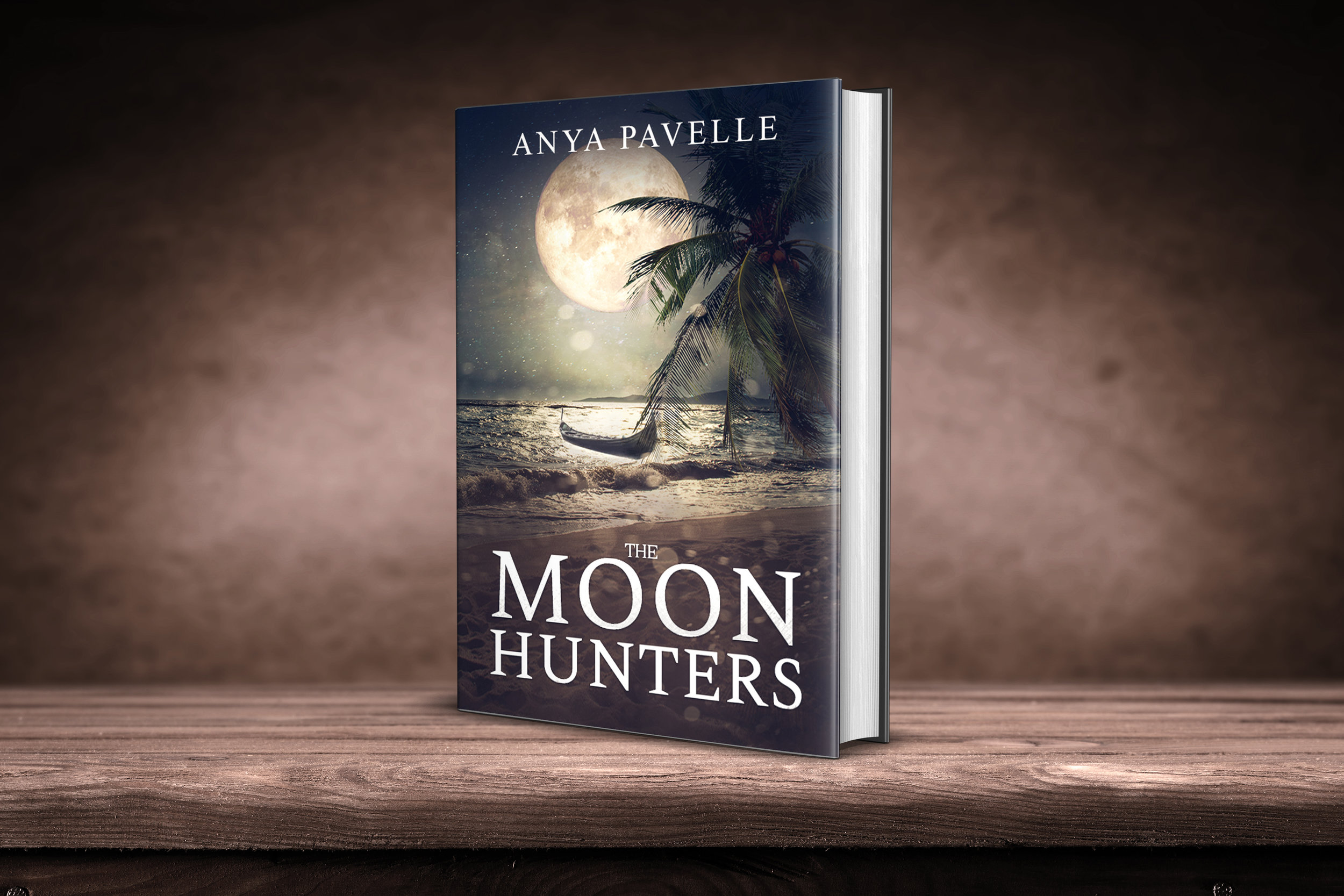 The cover was designed by the author, Anya Pavelle.