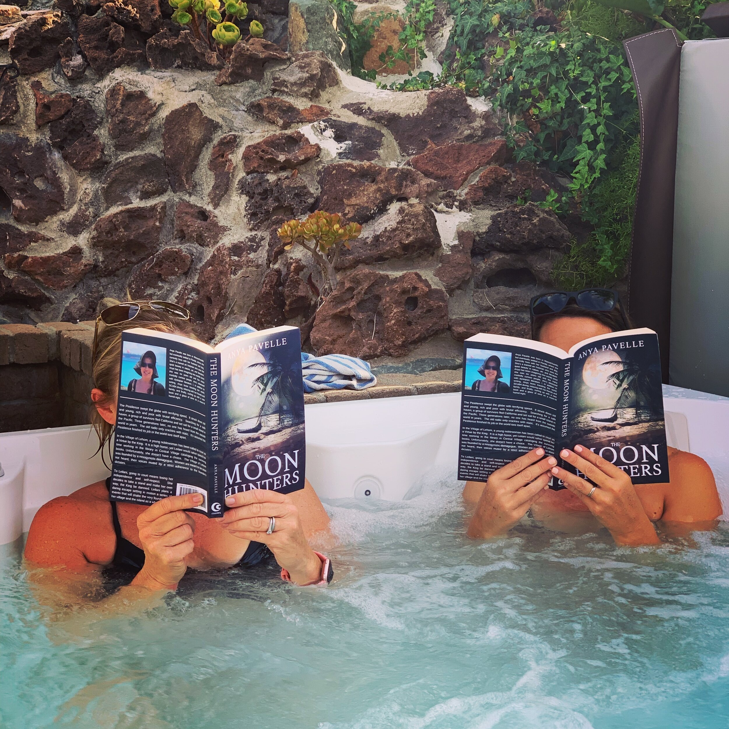 Sci-fi is always better in a hot tub.