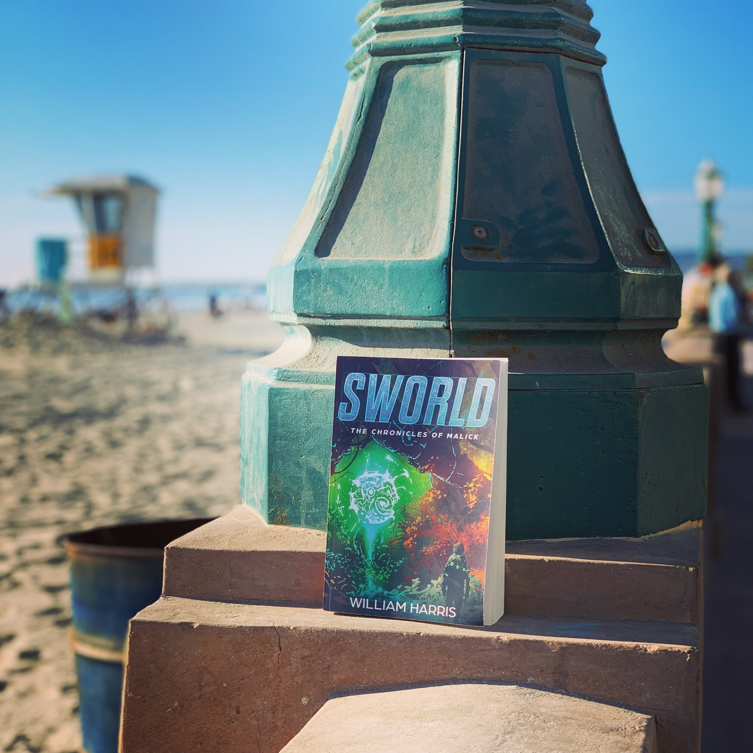 A day at the beach with a great book.