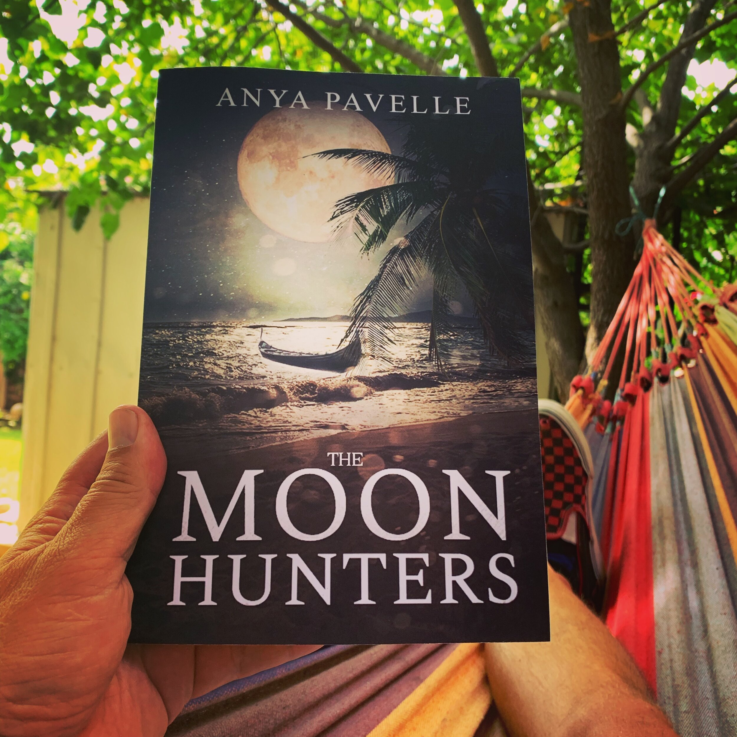 Hammock time is reading time.