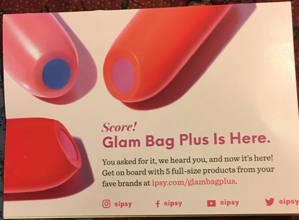 June Ipsy Glam Bag — Sporadic Force