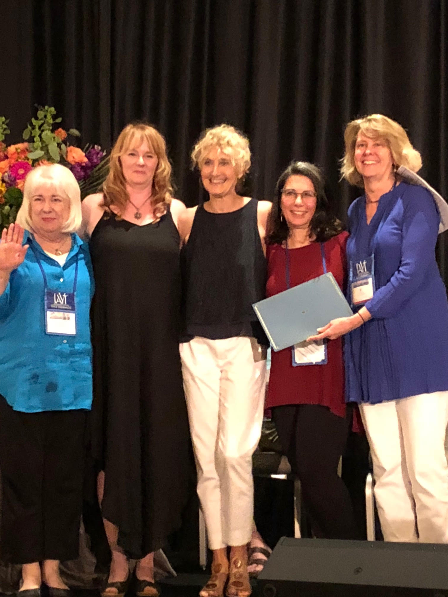 SCHYS Program Directors receive IAYT Accreditation certification at 2018 SYTAR. June 16, 2018.