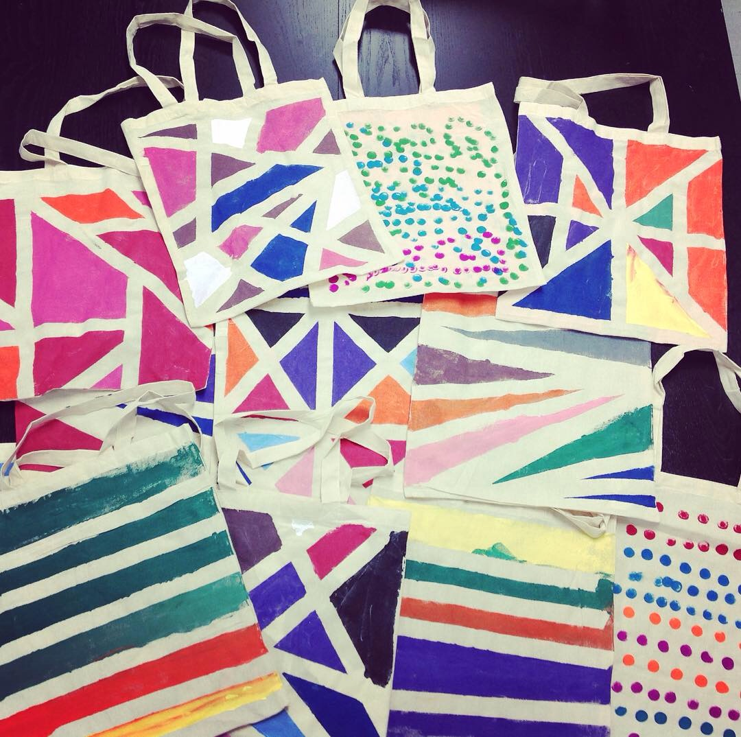 These tote bags were decorated by NHCIA self advocates and made for the participants of the CCIR working group. These colourful bags highlight the talent and creativity of the folks we support.