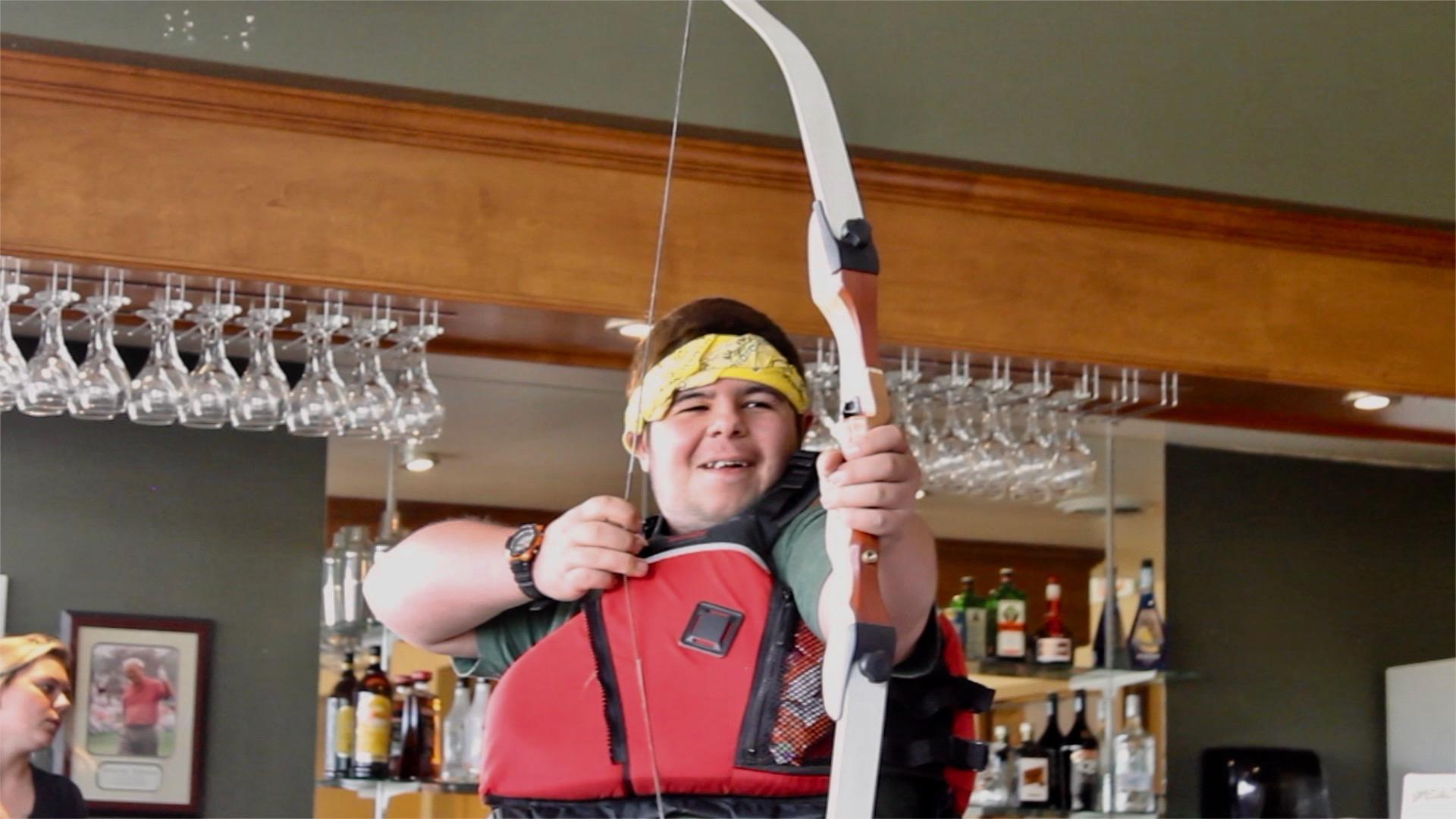 Travis with arrow.jpg