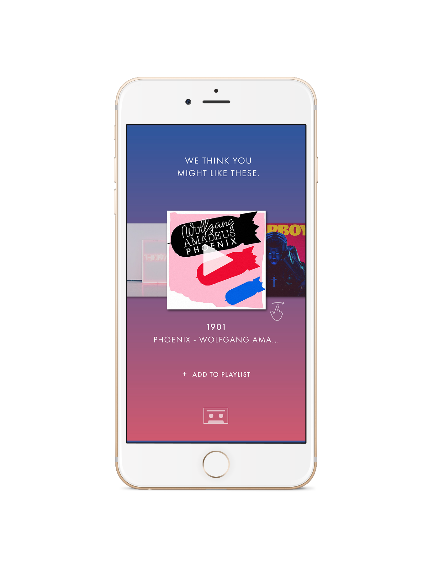 After obtaining the results, users can pick and choose what music suggestions they would like to add to their playlist(s). These results will feature a smaller selection of music that is better curated to the individual's unique taste.