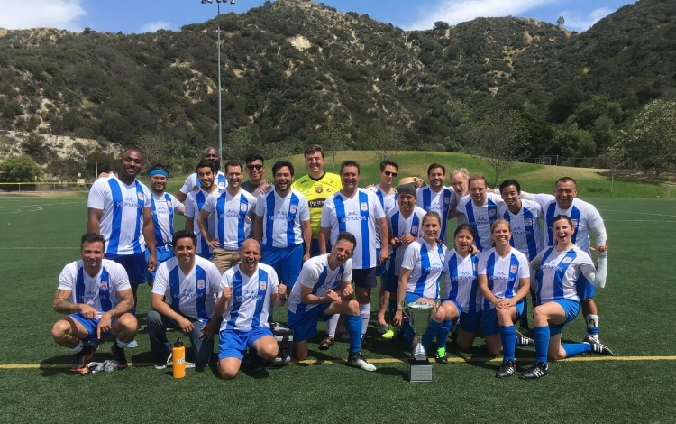 2018 Los Silverlake Cup Champions