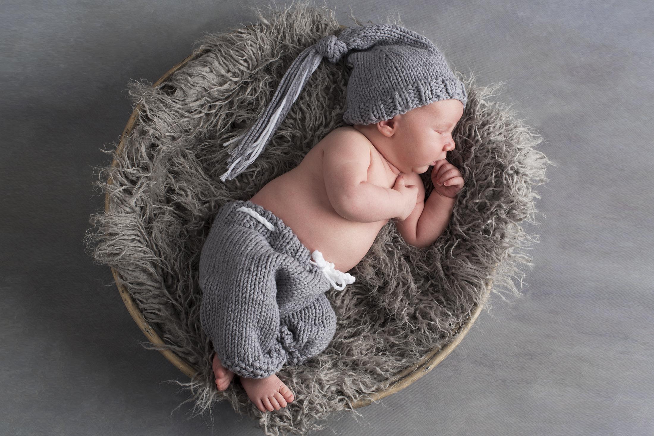Newborn baby boy photos taken in Central Massachusetts.
