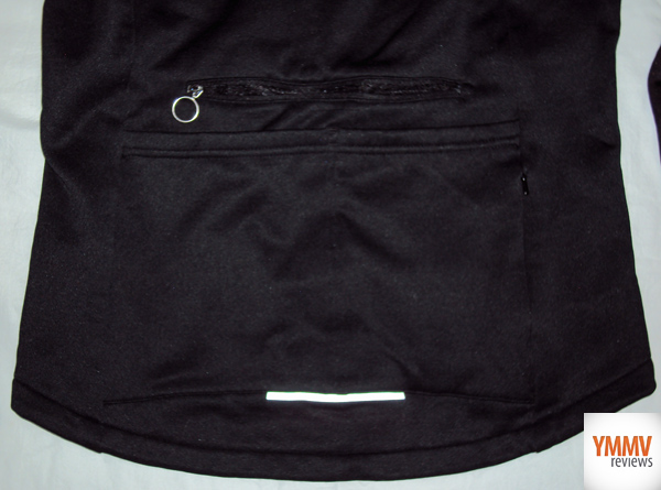 Back Zippered Pockets -