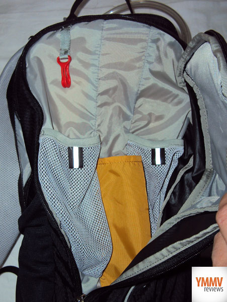 Gear Storage Pocket with Sleeves -