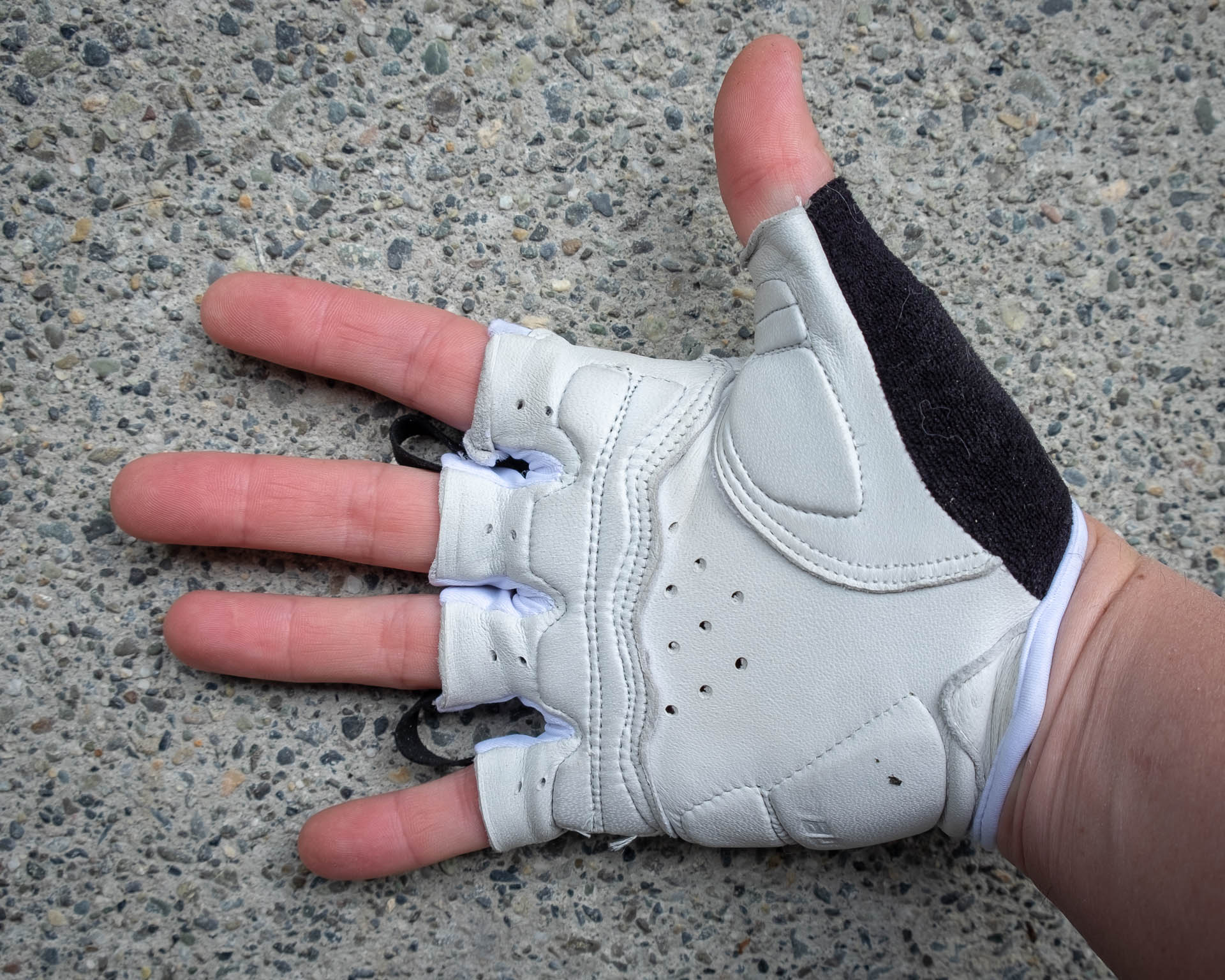 Gel Padding in the Palm -