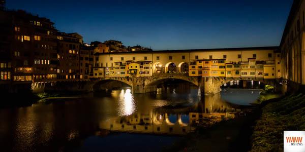 Famous Vecchio Bridge in Florence
