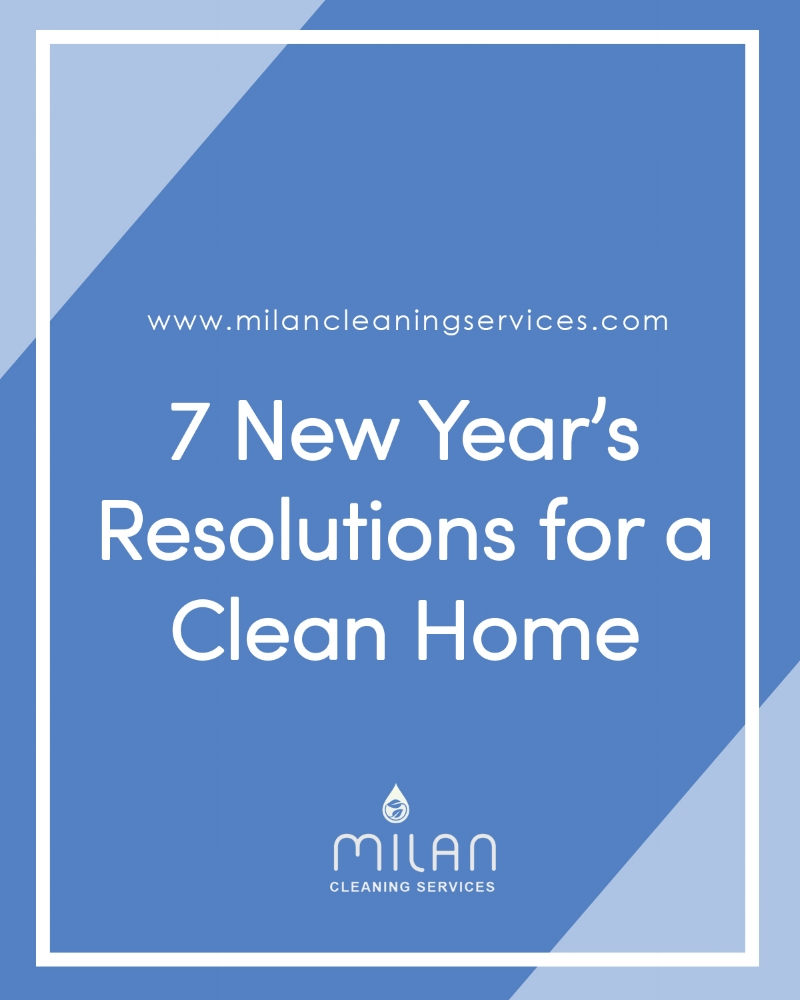 New Years Resolution for a Clean Home