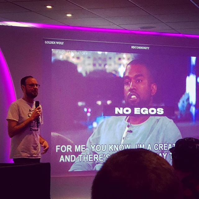 Great talk today by @runwiththegoldenwolf at Video Copilot love. Really inspiring to hear their journey, process and love of all things animated #videocopilotlive
