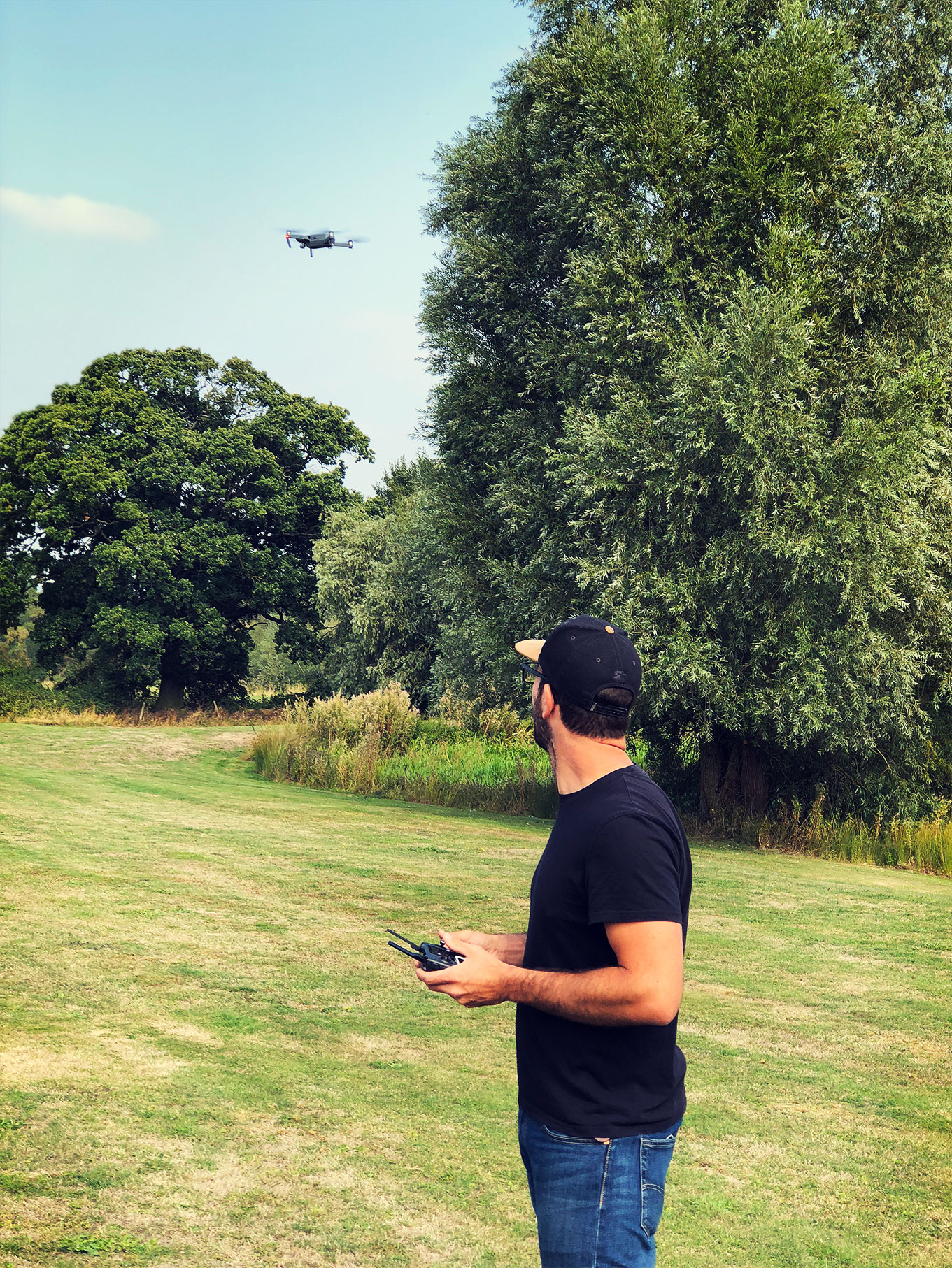 Drone Photography - One of the great features of our drone pilot Jimmy's DJIMAVICPRO was the ability to input predetermined points around the car, for the drone to fly to.Our drone photography has proven extremely popular, it's an excellent way to provide a fresh perspective!