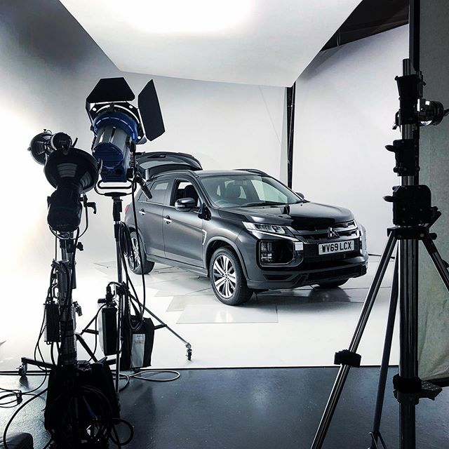 Back in the studio this week with the brand new Mitsubishi ASX.  #video #studio #videoshoot #mitsubishi #asx #blackmagicursa #automotive #elearning
