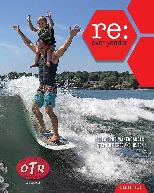July issue has printed and headed your way. #local #lkn #magazine #information #deals #placetobe #livemusic #entertainment #foodie #cocktail #wine #waleboard #watersports #surf #waterski #lakenorman feature @stephenpiercewake ✌️ ✊ 🌊