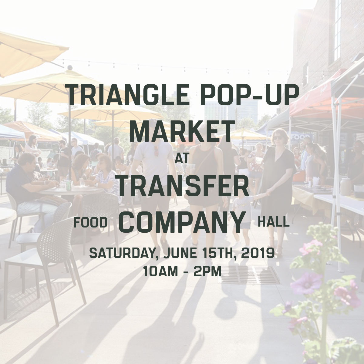 triangle pop-up market raleigh nc