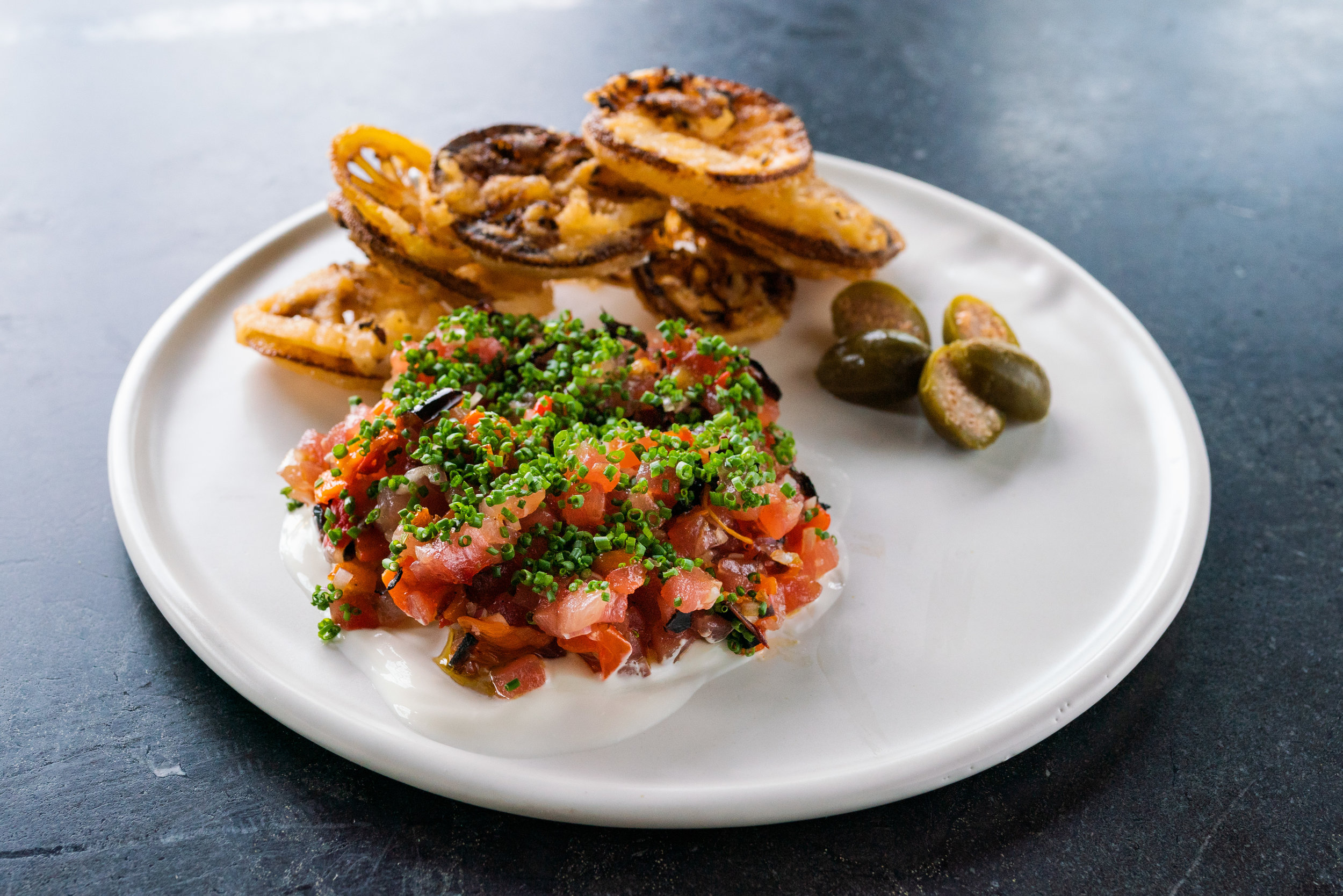 Tuna tartare at Locals Oyster Bar | Photo Credit: Owen Scott Jordan.jpg