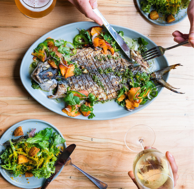 Whole grilled Spanish mackerel at Locals Oyster Bar | Photo Credit: Owen Scott Jordan.jpg