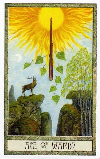 Image:  Druid Craft Tarot