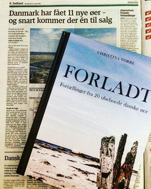 Skriver om forladte øer og udtaler mig om nye øer i Danmark i gårsdagens udgave af JP #ubeboetø #forladt #11nyeøeridk #yeah #og1øtilsalg #halmø