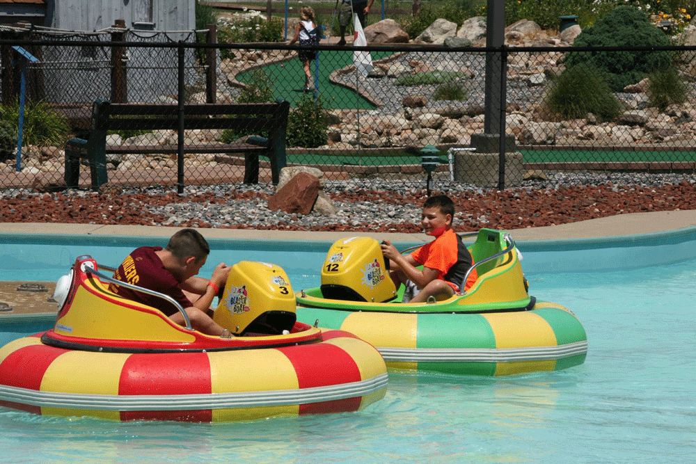 Splash Zone Bumper Boats