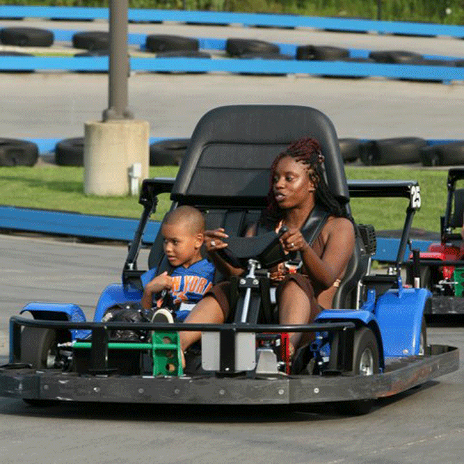 Speed zone double go karts - Riders under 58