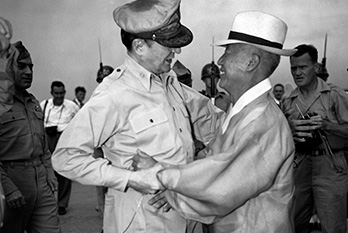 The Republic of Korea was formally established, with Syngman Rhee as the first president, August 15, 1948.