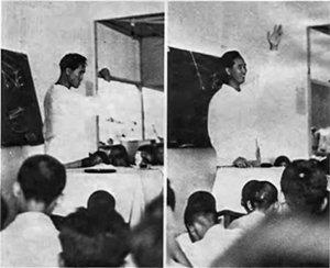 True Father teaching at Cheongpa Dong.