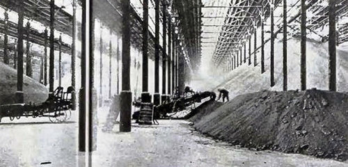 The work and storage room at the Heungnam Labor Camp.