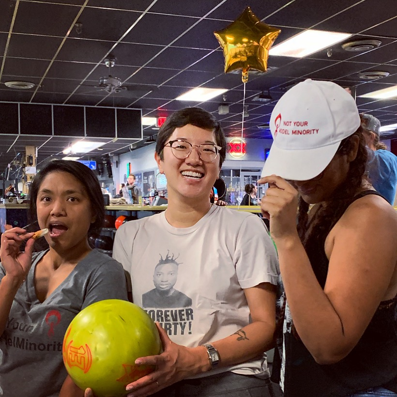 Celebrating New Mexico Abortion Funders at the NNAF 2019 Bowl-a-thon (we raised over $1400!)