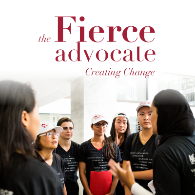 The Fierce Advocate Creating Change