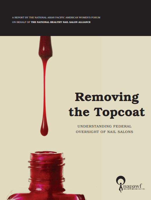 Removing the Topcoat report cover