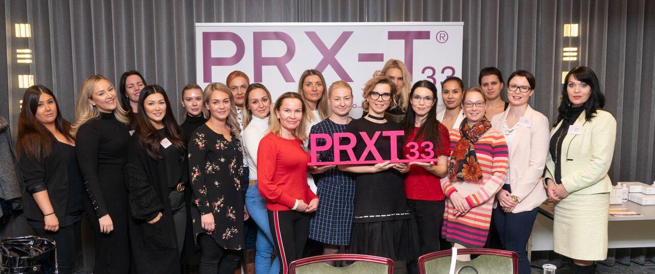 Kuvassa PRX-T33 ammattilaiset