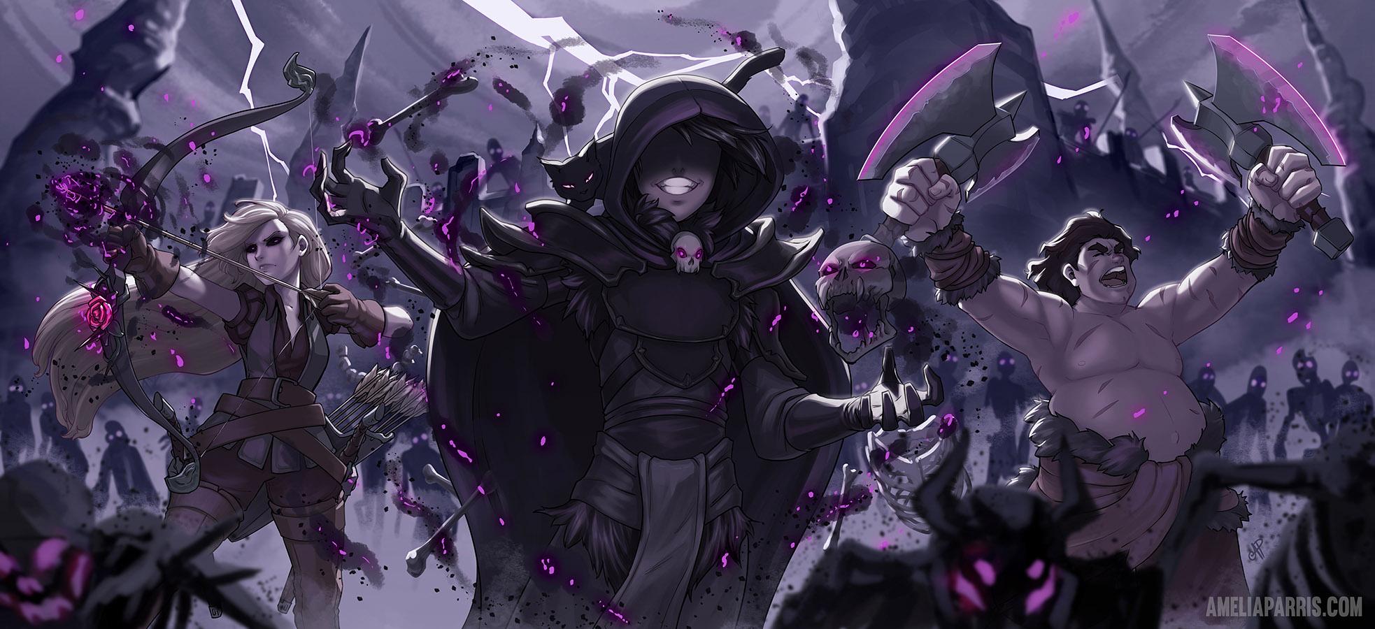 """Banner art for """"Awaken Online"""""""