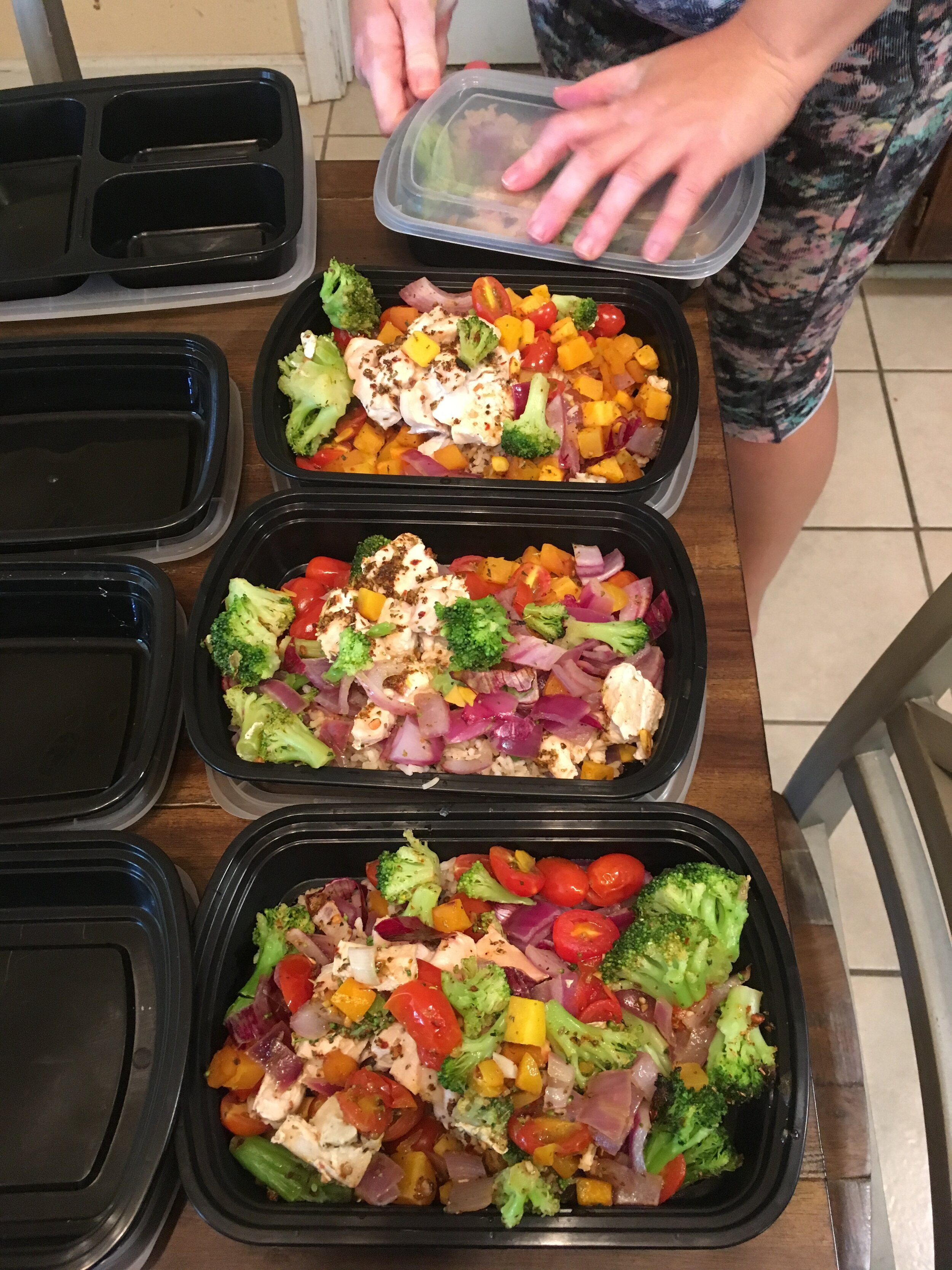 finished meals