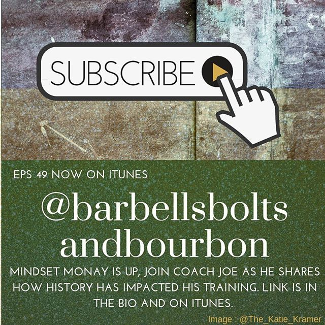Eps. 49 is up on iTunes! This Mindset Monday is about history and training!