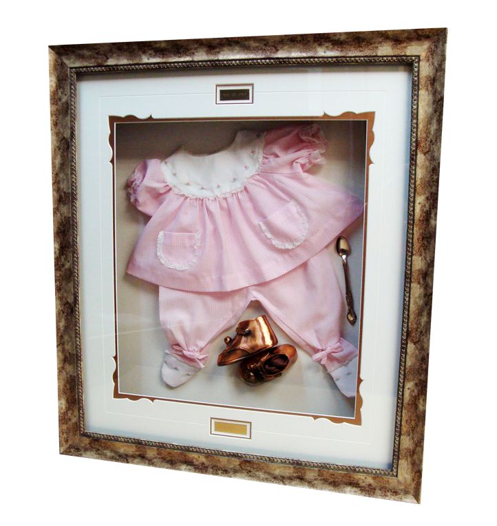 Baby Outfit Custom Frame